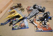 Lego Star Wars Raumschiffe  7877  7869  7961  9496  mit Bauplan - auswählen