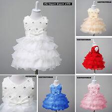Vestito Bambina Abito Cerimonia Battesimo Girl Party Princess Dress CDR055