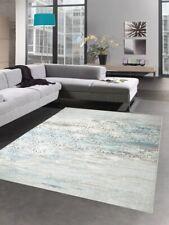 Modern carpet wool rug antik vintage ornament gray cream turquoise Dywan