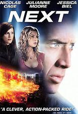 Next (Widescreen DVD) Julianne Moore, Nicolas Cage, Jessica Biel FREE SHIPPING !