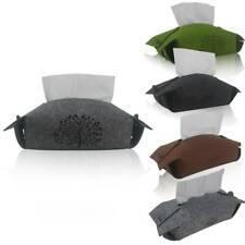 Filz Kosmetiktuchbox Taschentuchbox dekorative Kleenex Box Taschentuch Spender