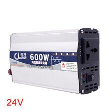 Home Car 600W 1000W Power Inverter DC 12V24V to 220V Sine Wave Converter