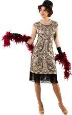 Orl Damen Kostüm Disco Pailletten Kleid Karneval Fasching