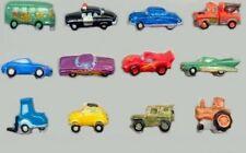 2007 CARS 4 ROUES II DISNEY PIXAR US USA FEVE PORCELAINE 3D modèle au choix