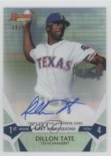 2015 Bowman's Best #FI-DT Dillon Tate Texas Rangers Auto Rookie Baseball Card