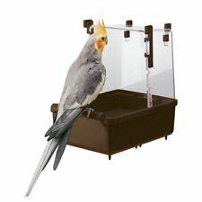 Hagen/FERPLAS Caged Bird Bath per Cacatua Pappagallo PAPPAGALLO ARA conures