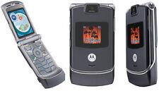 Motorola RAZR V3m - Pink/Black/Gray/Silver Verizon Phone Page Plus Straight Talk