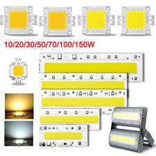 High Power Epistar Flood Light COB LED Bulb Bead Warm/Cool White Chip 110V 220V