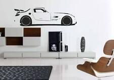 Mercedes AMG voiture de course-Wall Art Decal autocollant