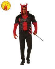 RUBIES Mens Costume Fancy Dress Halloween Scary Evil Horror Satan Devil 821033