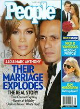 2011 People Magazine: Jennifer Lopez & Marc Anthony Marriage Explodes