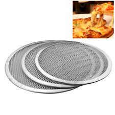 Cn _ 17.8-33cm Aluminio Redondo Horno Pizza Bandeja de Barbacoa Rejilla