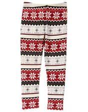 NWT Gymboree Leggings Warm and Fuzzy Fair Isle Girls Holiday Shop Many Sizes
