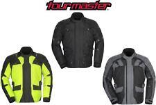 Tourmaster Transition 4 Motorcycle Jacket Black, Hi-Viz, Gunmetal Choose Size!