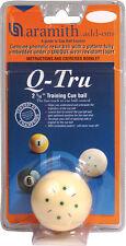 NEW Aramith Q-Tru Training Cue Ball, Great Price! - FREE US SHIPPING