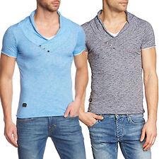 Redbridge Herren T-Shirt Shirt kurzarm Slim Blau oder Anthrazit Gr. S - XXL