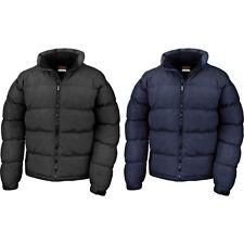 Mens Result Holkham Down Feel Winter Warm Light Jacket Coat