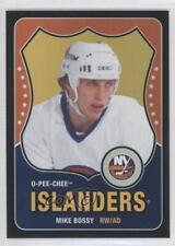 2010-11 O-Pee-Chee Black Rainbow Retro #562 Mike Bossy New York Islanders Card