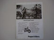 advertising Pubblicità 1973 PEUGEOT GT 10 49cc