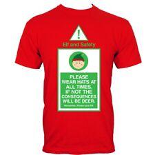 ELF & Safety MEN'S red t-shirt