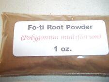 1 oz. Fo-ti Root Powder (Polygonum multiflorum)