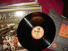 Ravi Shankar's Music Festival From India Dark Horse 22007 PROMO Vinyl LP US