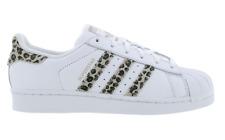 Mujer Adidas Superstar con Zapatillas Deportivas De Cuero Blanco da9260