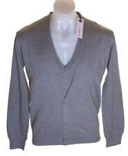 NEU mit Etiketten Authentic Herren Full Circle V-Ausschnitt Pullover Strickjacke