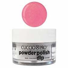 Cuccio Pro Powder Polish Nail Dipping Powder - Bright Pink W Gold Mica 14g/45g