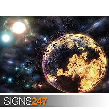UNIVERSAL GLOW (3121) Space Photo Picture Poster Print Art A0 A1 A2 A3 A4