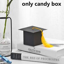 Doctor Hat Cap Bag Candy Box Paper Carrier Graduation Celebration Decoration
