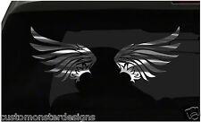 WINGS Sticker Angel Wings All size regular & Chrome Mirror Vinyl Colors