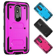 For LG Arena 2/K30/X2 Case Belt Clip Holster Hard Kickstand Hybrid Phone Cover