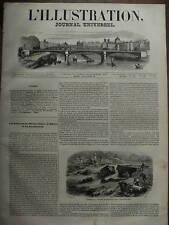 L'ILLUSTRATION 1844 N 38 LES INNONDATIONS EN FRANCE
