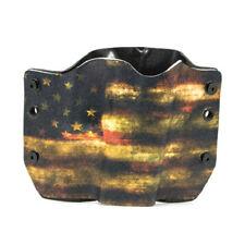 OWB Kydex Gun Holsters, Dark USA for Glock Handguns