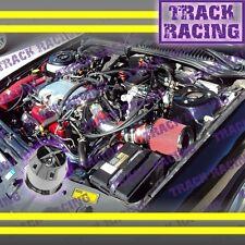 97 98 99-05 PONTIAC GRAND AMMALIBU ALERO 3.1L3.4L V6 AIR INTAKE KIT+CHF Red TB