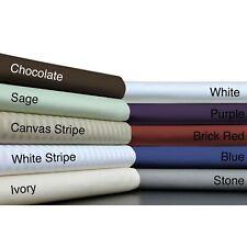 Superior 1000tc Egyptian Cotton 1 PC Valance Multi Colors Select AU Size
