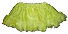 Gymboree NWT Greek Isle Style Green Tulle Ruffle Skirt Skort 3-6 6-12 18-24 $29