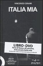 VINCENZO CERAMI:ITALIA MIA libro+DVD 2010 NUOVO SIGILLATO-NICOLA PIOVANI RAI 1aE