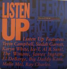 """LISTEN UP Feat Tevin Campbell Siedah Garrett Karyn White... 12"""" PS USA PROMO"""