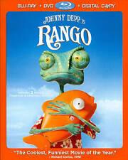 Rango (Blu-ray/DVD, 2011, 2-Disc Set)
