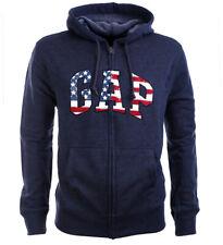 GAP USA Herren Hoodie Sweatjacke Kapuzenjacke navy Size XS-XXL