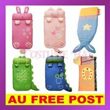 Cartoon Baby Kids Boys Girls Cotton Animal Sleeping Bag Mermaid Rabbit Dinasour