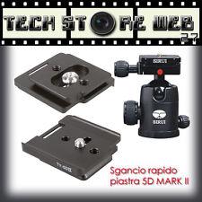 SIRUI PIASTRA SGANCIO RAPIDO Quick Release TY-5DII canon EOS 5D MARK II HEADBALL