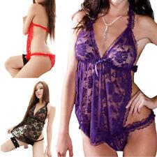 Mujeres Sexy/Sissy G-String Ropa de Dormir Lencería erótica (INT)