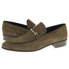 "Alex D ""Orlando"" Bit Loafer, Men's Dress/Casual Slip-on Shoes, Khaki"