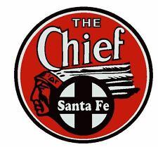Santa Fe Railroad Sticker R2783 The Chief