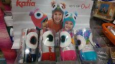 Katia Kid's Búho Sombrero de ganchillo Kit