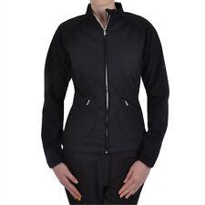 Adidas Climawarm Stretch Full Zip Jacket Plain Black S,M,L,XL Warm not Bulky New