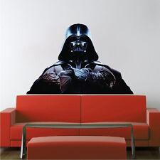 Darth Vader Wall Decal - Star Wars Wall Design - Vader Kids Room Wall Mural b31